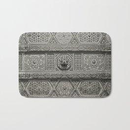Islamic Design Roof Damascus Carving Bath Mat