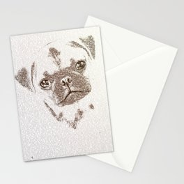 The Intellectual Pug Stationery Cards