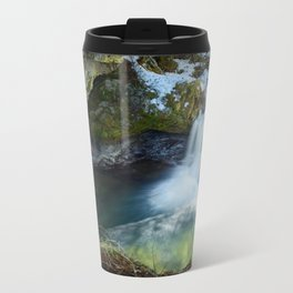 Paradise Falls 1 Metal Travel Mug