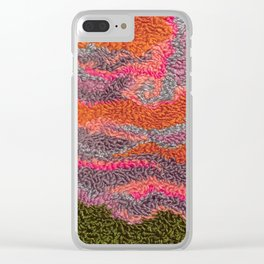 Melting Sky Clear iPhone Case