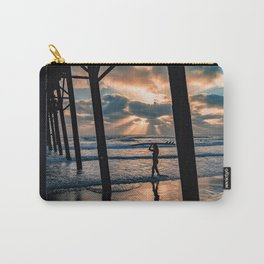 Little Surfer Girl Carry-All Pouch