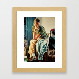 The Shirt Framed Art Print