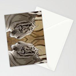 Tiger reflection Stationery Cards