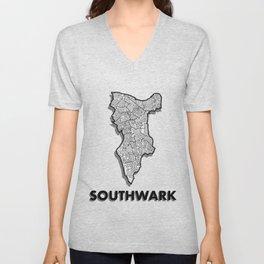 Southwark - London Borough - Simple Unisex V-Neck