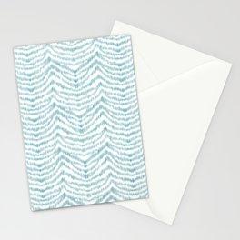 """Turquoise zebra pattern """"Sebrina"""" Stationery Cards"""