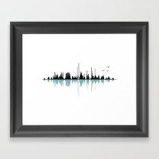 Music City Framed Art Print