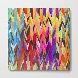 """burst of color"" Metal Print"