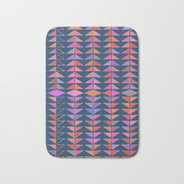 Colorful Triangles Bath Mat