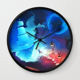 To the Night Sky Wall Clock