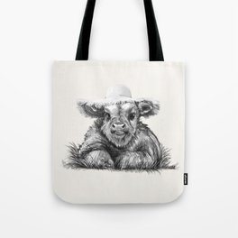 Baby Coo in Cream Tote Bag