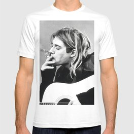 Kurt Cobai-n Posters Print, Famous Legend Singer Nirvana Rock Band, Music, Home Décor Picture Wall Art Picture Photography Sizes A5,A4,A3 T-shirt