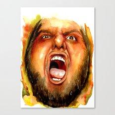 BEAR RAGE Canvas Print