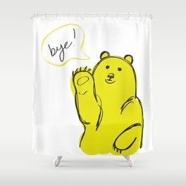 Bye Shower Curtain