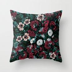 NIGHT FOREST XVII Throw Pillow