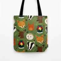 british Tote Bags featuring British Woodlands by Rob Barrett — Nice Hot Cuppa