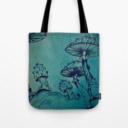 Mushroom Garden Tote Bag