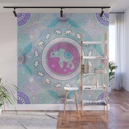 MAGIC HAPPY ELEPHANT Wall Mural
