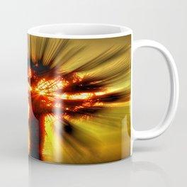 Flaming Palm Coffee Mug