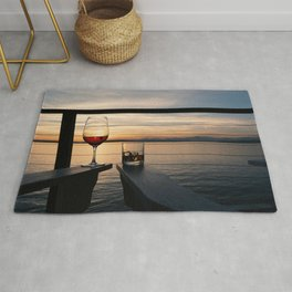 Wine and Whiskey Eve Rug