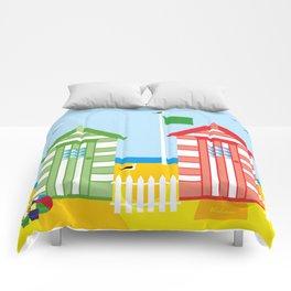 BEACH HUT Comforters
