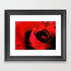 RED HOT Framed Art Print