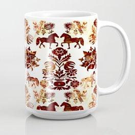 horse damask Coffee Mug