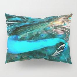 Peacock Plumage Pillow Sham
