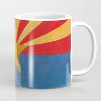 arizona Mugs featuring Arizona by Michael Creese