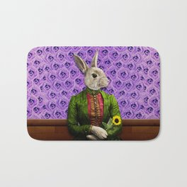 Miss Bunny Lapin in Repose Bath Mat