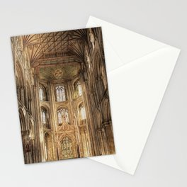 Peterborough Cathedral 2 Stationery Cards