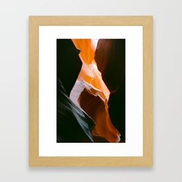 antelope canyon 4 Framed Art Print
