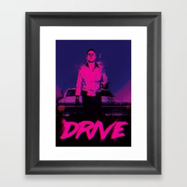 Drive (Nightcall) Framed Art Print