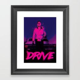 Drive (Nightcall) Framed Art Print