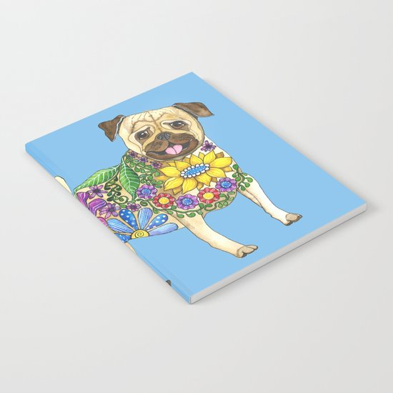 The Pugster (Blue) Notebook