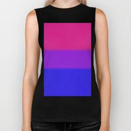 Bisexual Pride Flag v2 Biker Tank