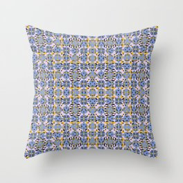 Clouds And Light Sparks Throw Pillow