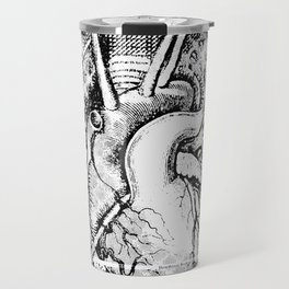 Map of the Human Heart Travel Mug