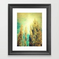 forested mind Framed Art Print