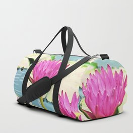 The Water Lily Duffle Bag