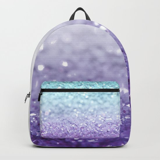 MERMAIDIANS PURPLE GLITTER Backpack