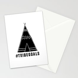 Tribe Goals Stationery Cards