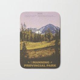 E. C. Manning Provincial Park Bath Mat