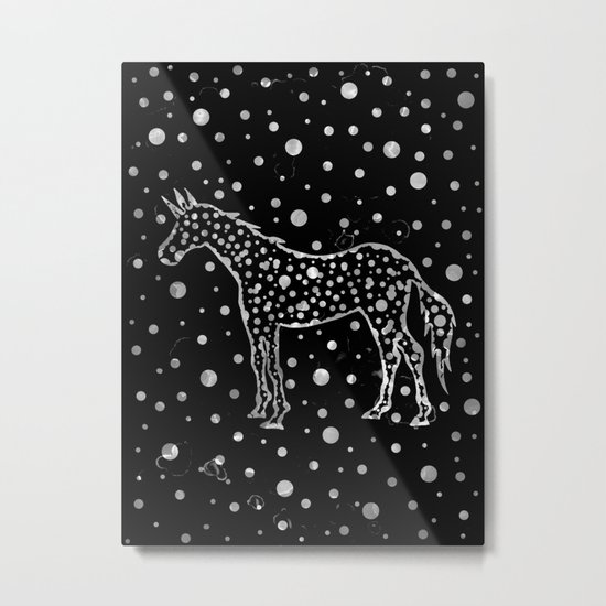 I Spot a Unicorn Too Metal Print