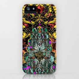 CROWN OF BADASSERY iPhone Case