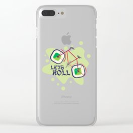 Lets Roll! Clear iPhone Case