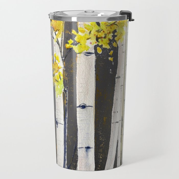 Birch Tree Travel Mug