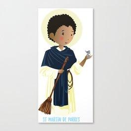 St Martin of Porres Canvas Print