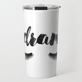 #Drama | Lashes Travel Mug