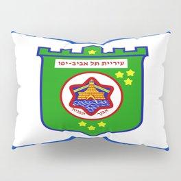 flag of tel aviv Pillow Sham