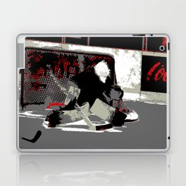 Goal Stopper - Ice Hockey Goalie Laptop & iPad Skin